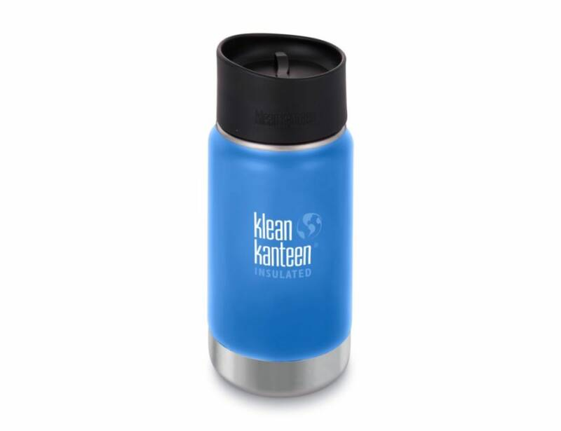 Lunch & Water - Klean Kanteen - 12 oz Thermosfles koffie - brede opening- (Eco-Gr)