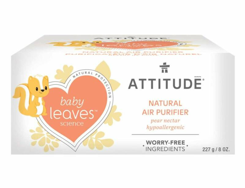 Baby - Attitude Baby Leaves - Luchtverfrisser Peer - (Eco-Gr)