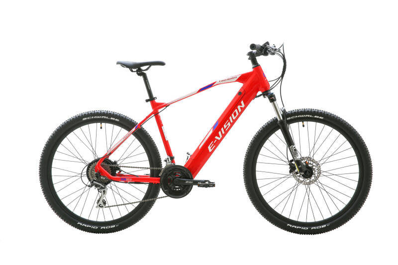 E- Vision Tourmalet 27,5″ 44 Cm Red