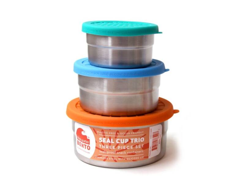 Lunch & Water - Blue Water Bento - Lunchbox Seal cup Trio - (Eco-Gr)