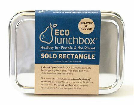 Lunch & Water - Eco lunchboxes - Lunchbox Solo Rectangle - (Eco-Gr)