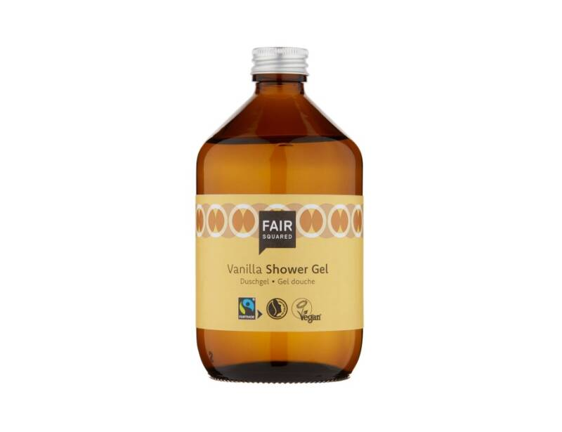 Haarverzorging - Fair Squared - Shower Gel - Vanilla - Zero Waste - 500ml - Vanilla - (Eco-Gr)