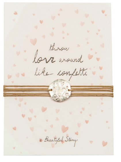 Jewelry postcard Love . A Beautiful Story