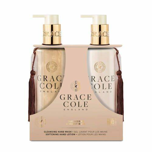 Grace Cole hand care duo Oud accord & Velvet musk