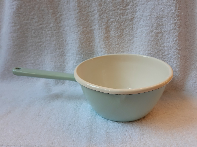 Mint emaille steelpan