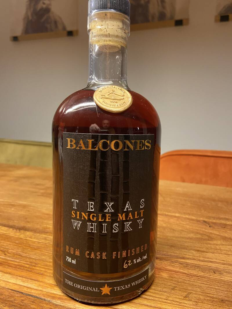 Amerika - Balcones Single Malt Rum Cask