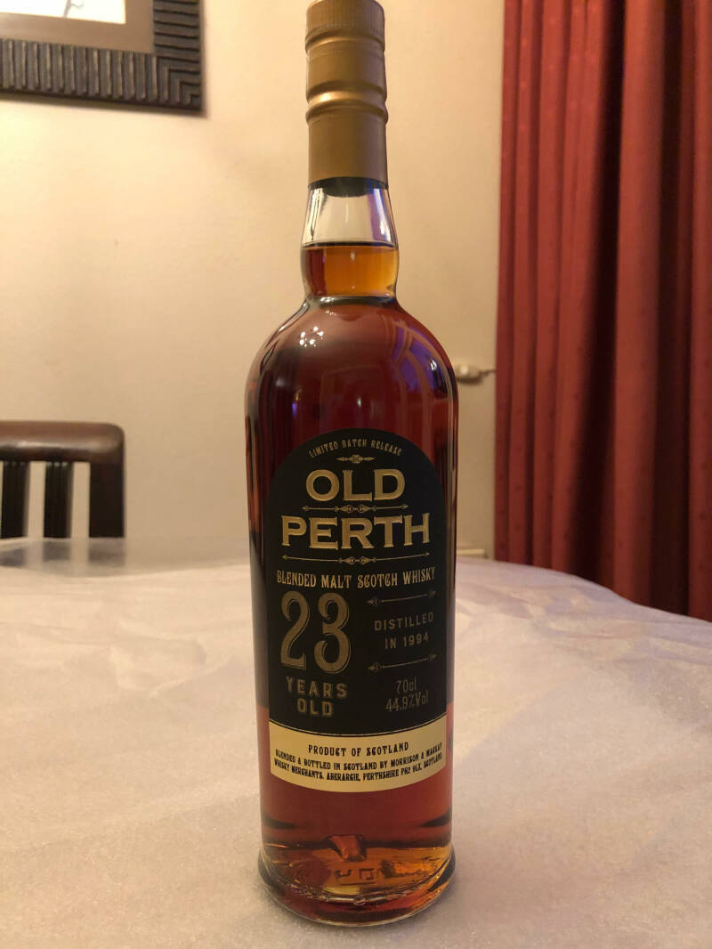 Old Perth 23y Sherry Cask