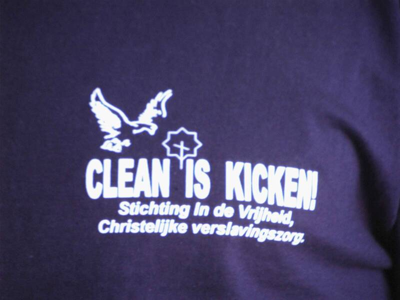 Clean is Kicken!  Tshirt 12.50