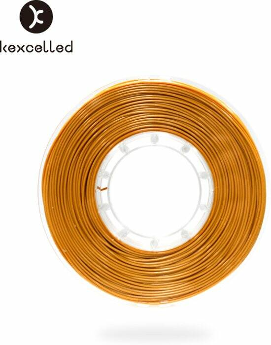 Kexcelled - PLA silk9 -1.75mm-goud/gold 500g