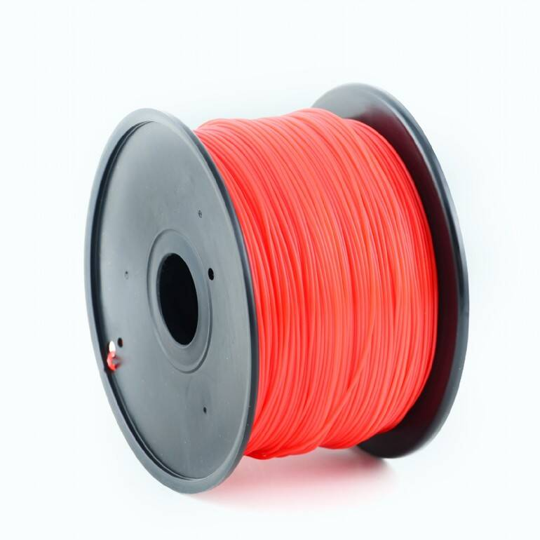 Gembird ABS - Rood - 1 kg spool 1,75 mm & 3 mm