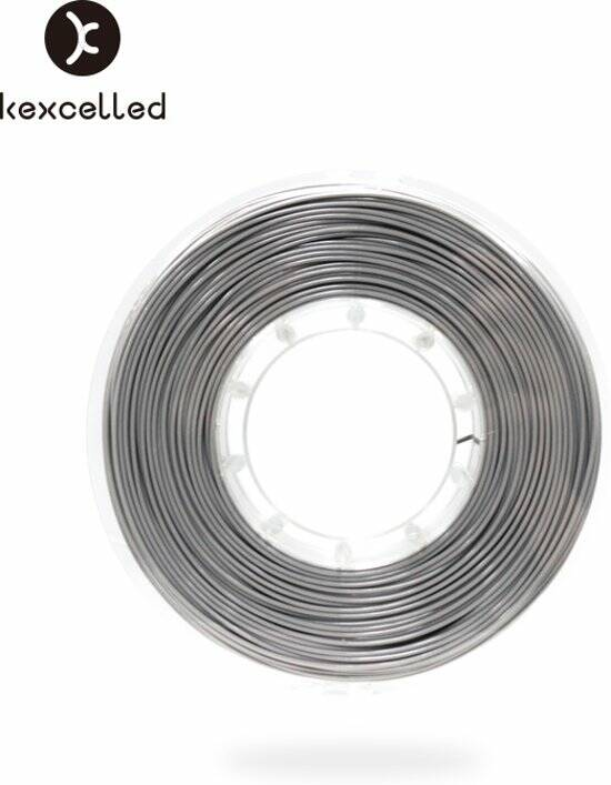 Kexcelled - PLA silk9 -1.75mm-zilver/silver 500g