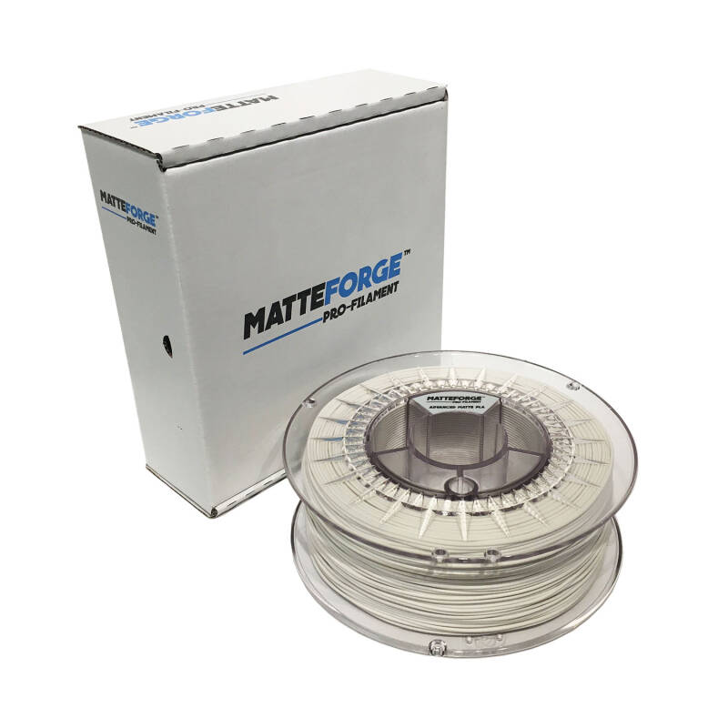 MatteForge Pro Filament - Wit - 1 kg spool 1,75mm