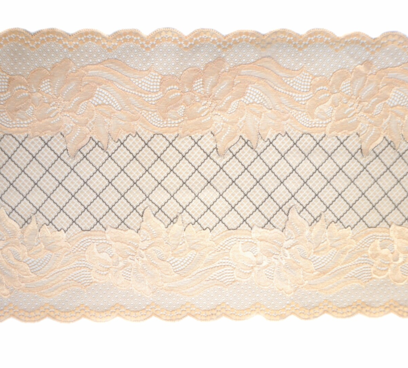Knitted lace skin color