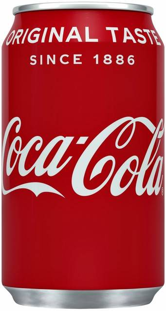 Coca cola blik 0,33 cl