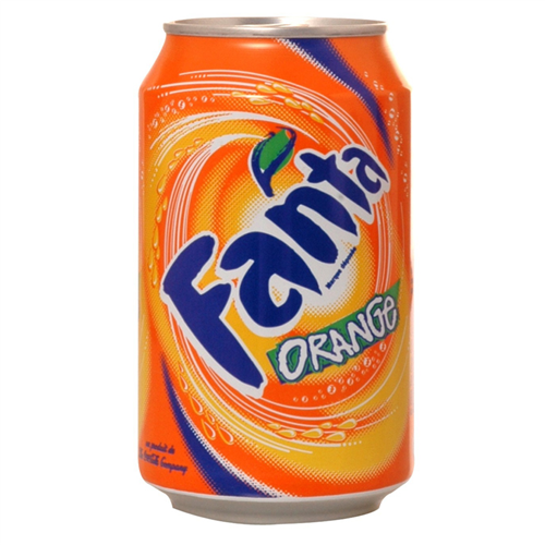 Fanta Orange 0,33 cl