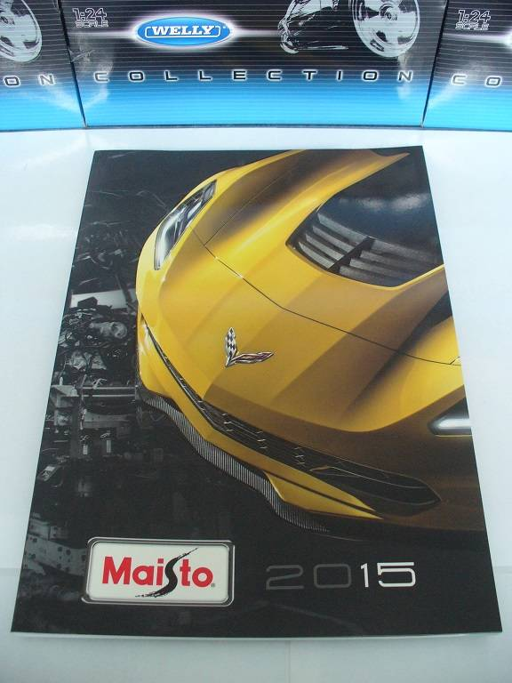 Maisto Catalogue Catalogus 2015