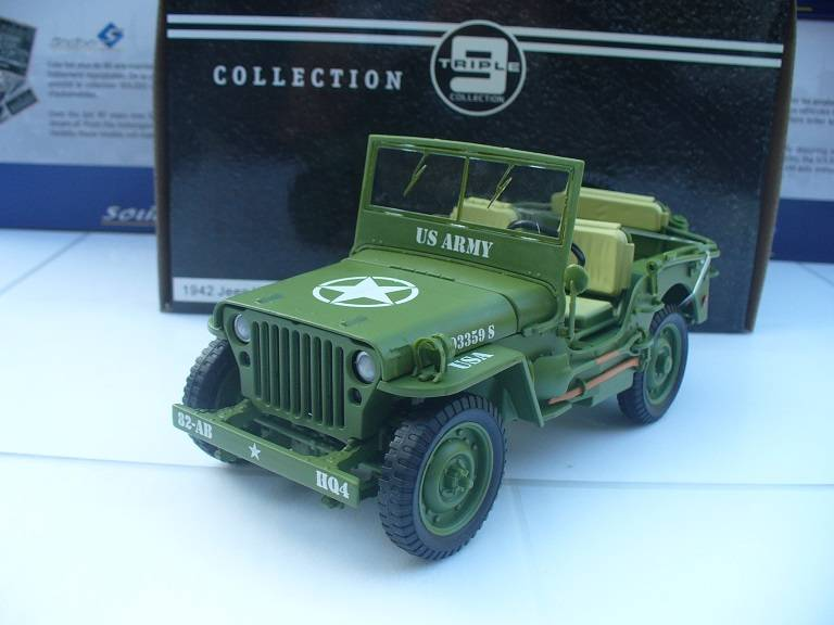 Willy's Jeep US Army Triple 9 Collections 1/18