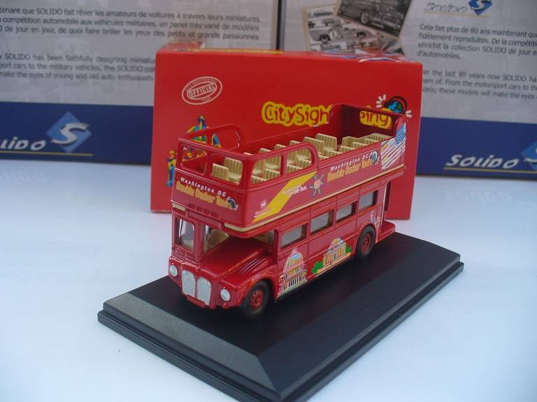 AEC London Bus Dubbeldekker Washington DC Oxford 1/76