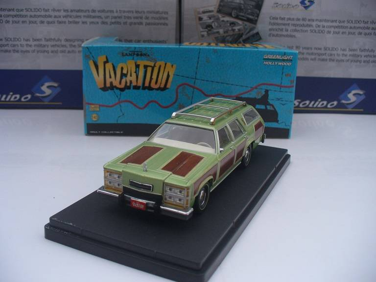 Vacation auto Greenlight 1/43