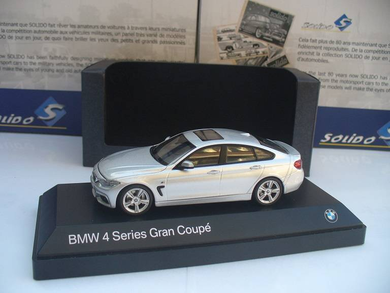 BMW 4 Serie Gran Coupe Zilver Kyosho 1/43