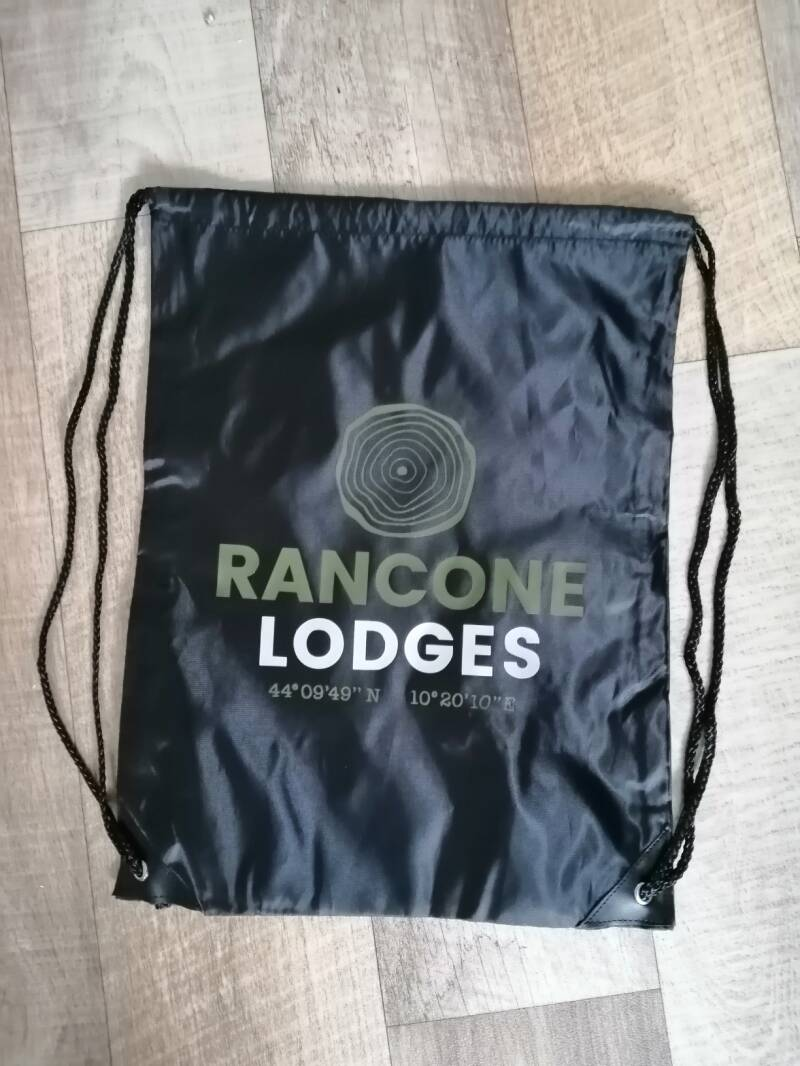 Bedrukking Rancone Lodges - grijs shirt
