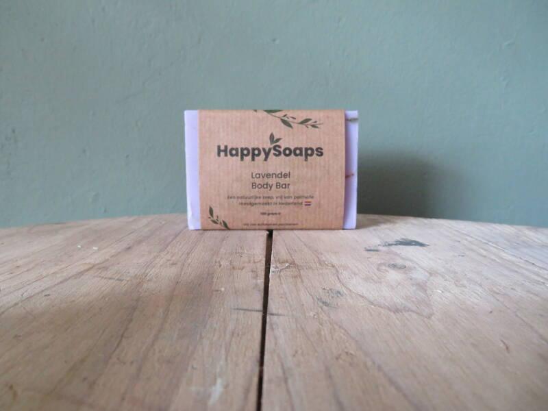Happy Soaps Body Bar - Lavendel