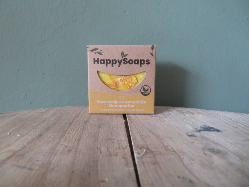 Happy Soaps Shampoo Bar - Chamomile Down & Carry On