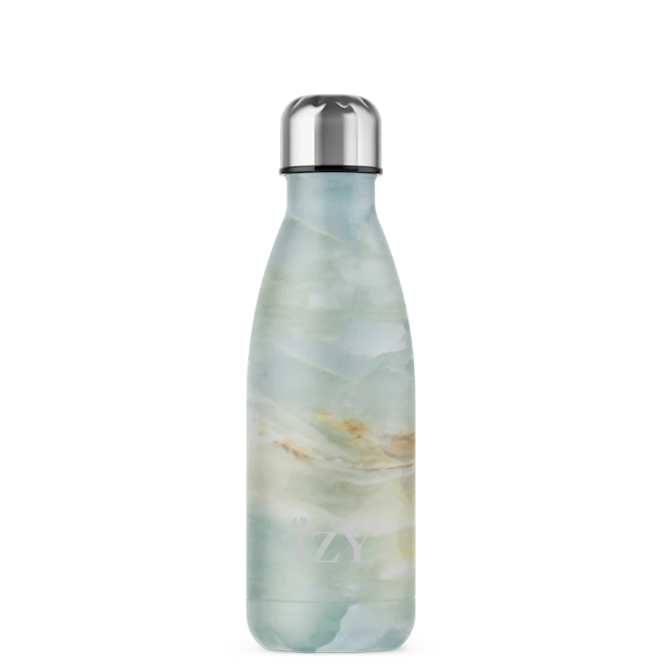 IZY - Marble Green thermosfles 350ML
