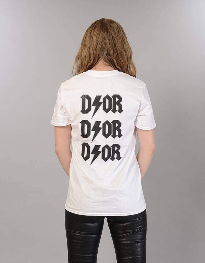 D/OR T-shirt white