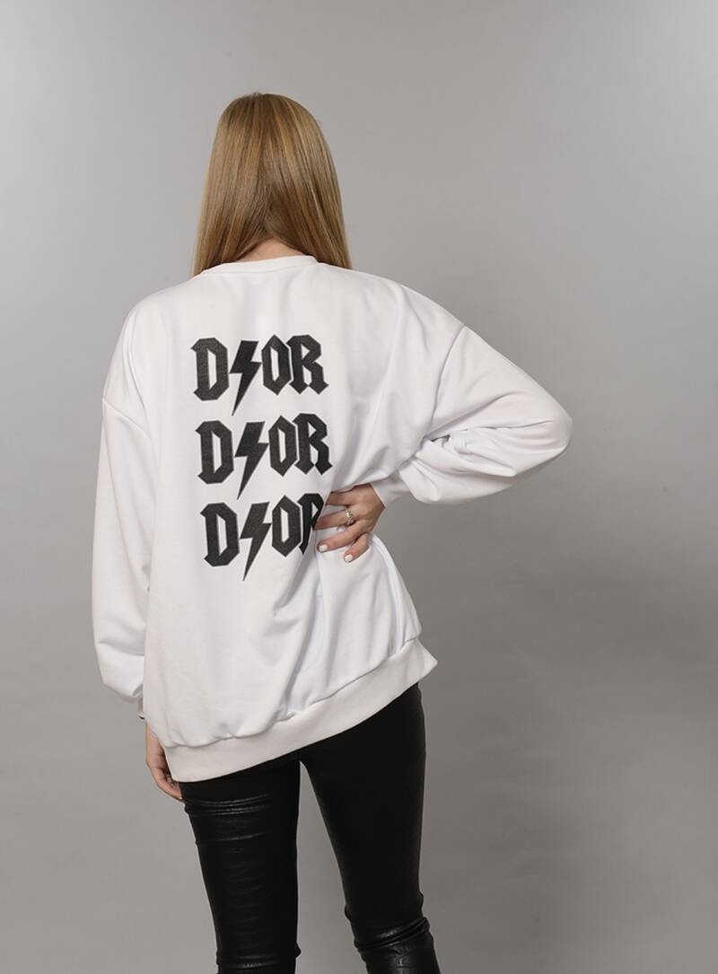 D/OR oversized sweater Black