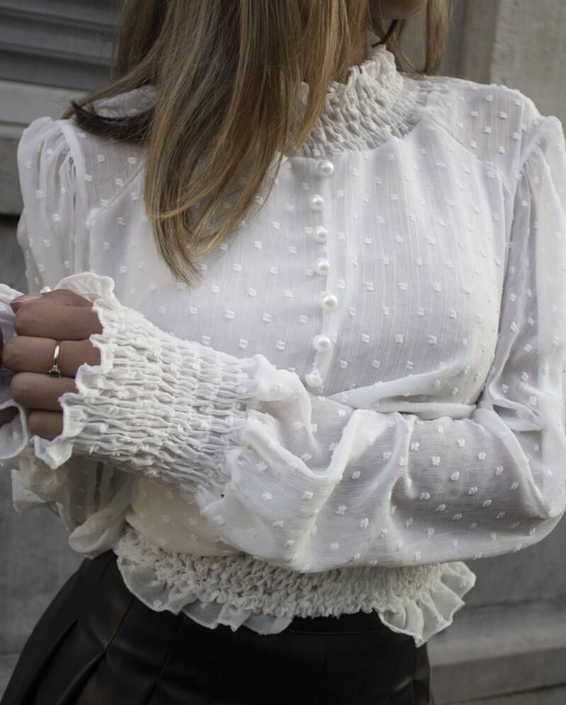Mary Blouse White