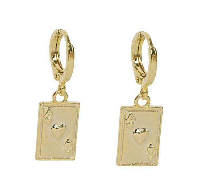 Ace of Cards earrings