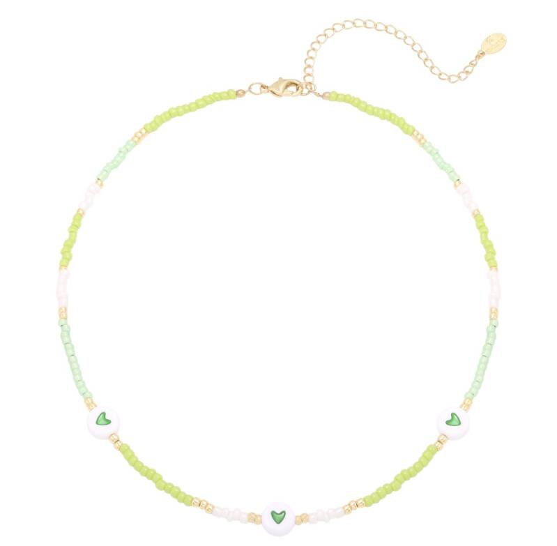 Green lover necklace