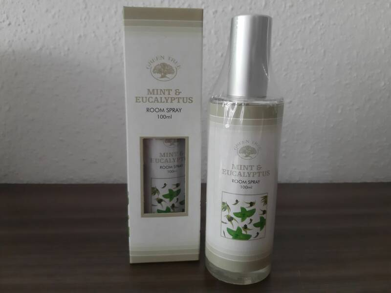 Green Tree roomspray ~ Mint & Eucalyptus