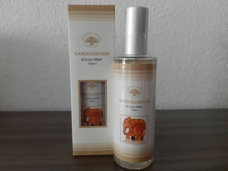 Green Tree roomspray ~ Sandalwood 100ml