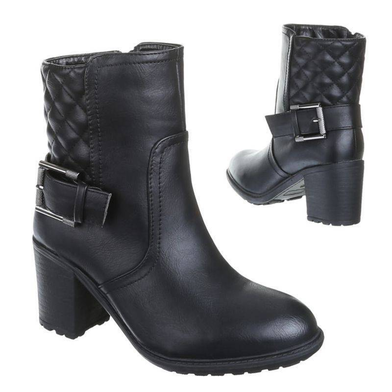 Dames-Enkelaars ( 501-black)