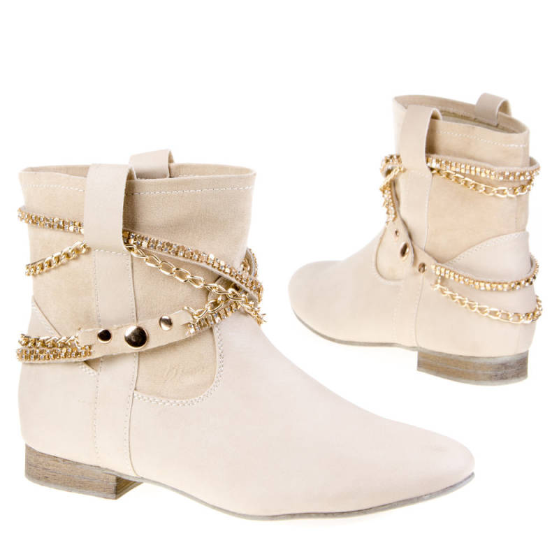 Dames-boots (B98 offwhite!37)