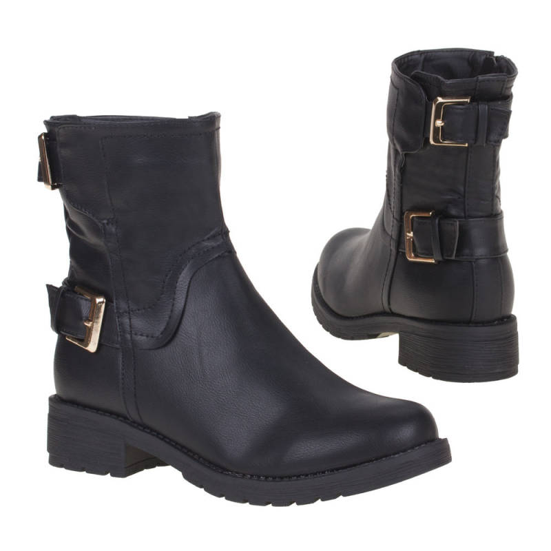 Dames-boots ( DH892-black)