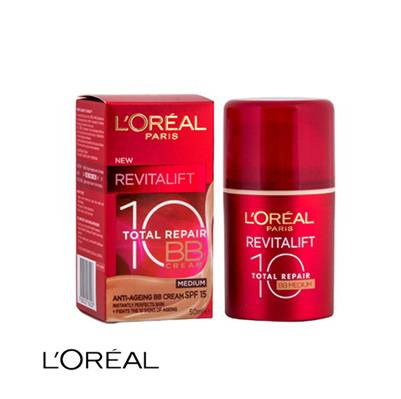L'Oréal BB Cream – Revitalift 10 Repair Medium