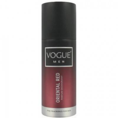 6 Pak Vogue Deospray Men – Oriental Red