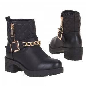 Dames-Boots ( Bl5213 black )