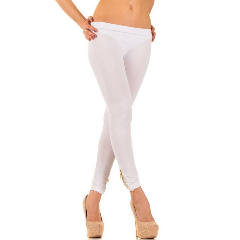 DAMES legging white one size 93079