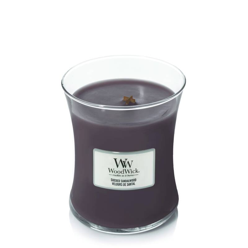 WW Suede & Sandalwood Medium Candle