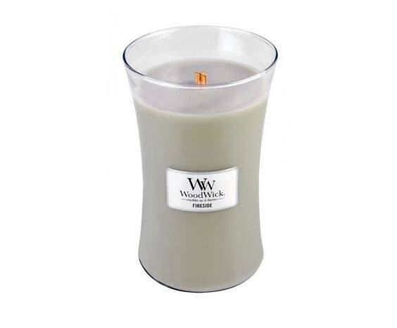 WW  Fireside large candle.
