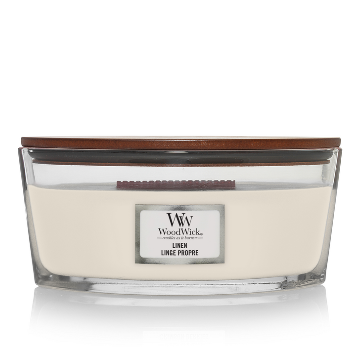 WW Linen Ellips Candle