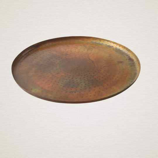 PTMD IRON COPPER DIENBLAD ROND