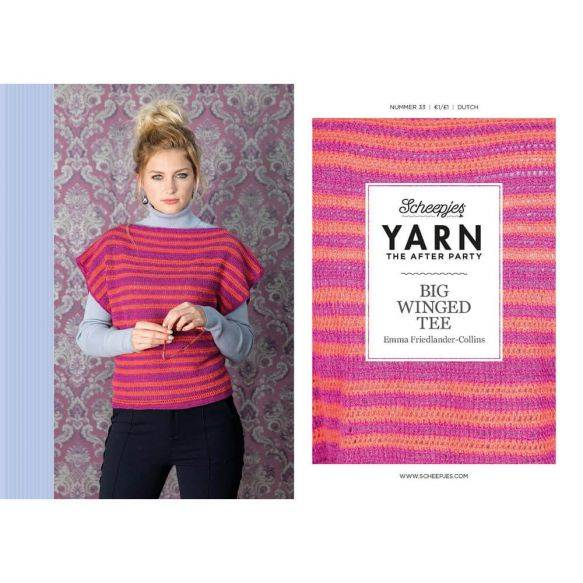 Yarn the afterparty, no 33, Big Winged tee