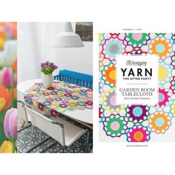 Yarn the after party no 11, Gardenroom tablecloth