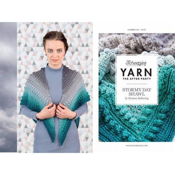 Yarn the afterparty no 09, Stormy day omslagdoek