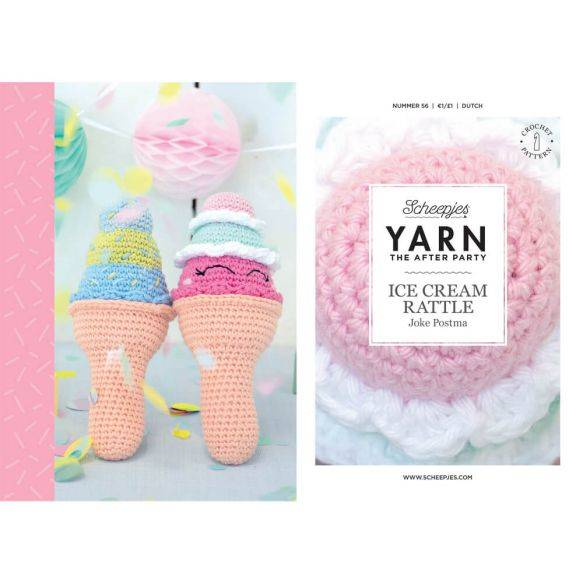 Yarn the afterparty, no 56, Ice cream rattle
